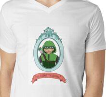 You Make Me Quiver - Oliver Queen Mens V-Neck T-Shirt