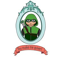 You Make Me Quiver - Oliver Queen Photographic Print
