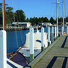 Walkway or long jetty, Port Fairy, Vic. Australia by EdsMum