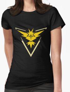 PokemonGo Yellow Instinct Team Womens Fitted T-Shirt