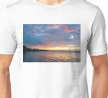 Just Before Sunrise - Toronto Skyline Under Spectacular Clouds Unisex T-Shirt