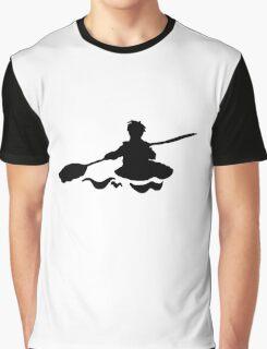 Kanu black Graphic T-Shirt