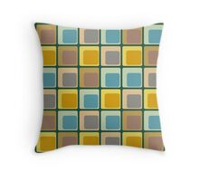 Barham Bottle Green Cushion And Tote Throw Pillow