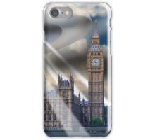 UFO Over London iPhone Case/Skin