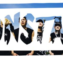monsta-x rush Sticker
