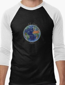 All One Earth Men's Baseball ¾ T-Shirt