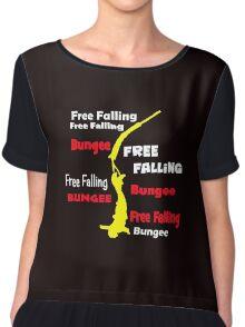 Bungee free falling Chiffon Top