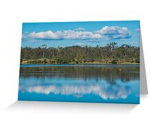 Lake Manchester during the day Greeting Card