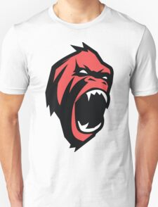 Deadly mean and mad Animal Monkey Unisex T-Shirt