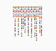 In the Navy - Navy Alphabet - Navy Signal Flags Unisex T-Shirt