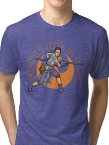 Fight Like A Girl Tri-blend T-Shirt