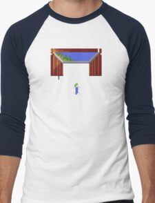 Cloudy with a chance of lemmings Men's Baseball ¾ T-Shirt