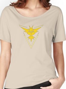 Pokemon GO: Team Instinct (Yellow) Women's Relaxed Fit T-Shirt