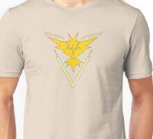 Pokemon GO: Team Instinct (Yellow) Unisex T-Shirt
