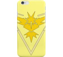 Pokemon GO: Team Instinct (Yellow) iPhone Case/Skin