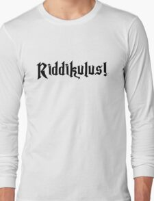 Riddikulus! Long Sleeve T-Shirt