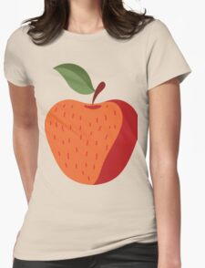 Beautiful Apple Painting Womens Fitted T-Shirt