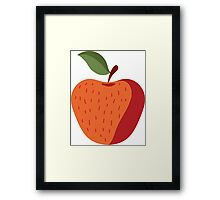 Beautiful Apple Painting Framed Print