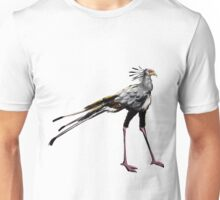 Sekretärvogel (secretary bird) Unisex T-Shirt