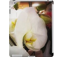 *White Orchid - Plaza* iPad Case/Skin