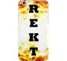 REKT iPhone Case iPhone Case/Skin