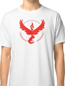 Pokemon GO: Team Valor (Red) Classic T-Shirt