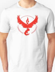 Pokemon GO: Team Valor (Red) Unisex T-Shirt