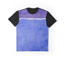 Dirty blue ripped paper Graphic T-Shirt