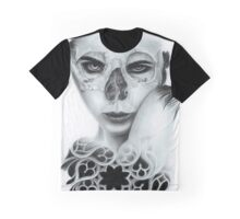 Zombie Gothic Girl Graphic T-Shirt