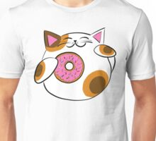 Donut Lucky cat Unisex T-Shirt