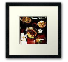 Comfort Food: Japanese Framed Print