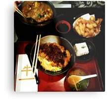 Comfort Food: Japanese Metal Print
