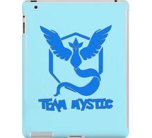 Pokemon GO: Team Mystic (Blue) - Text iPad Case/Skin