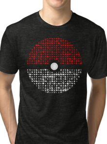 Pokemon Go Silhouette Montage  Tri-blend T-Shirt