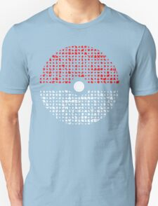Pokemon Go Silhouette Montage  Unisex T-Shirt