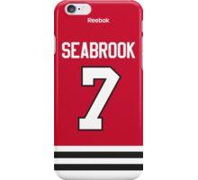 Chicago Blackhawks Brent Seabrook Jersey Back Phone Case iPhone Case/Skin