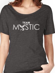 Team Mystic (white) Women's Relaxed Fit T-Shirt