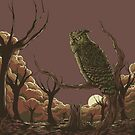 Old Hunter by monochromefrog