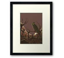 Old Hunter Framed Print