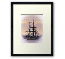 HMB Endeavour - Portland, Victoria, Australia Framed Print