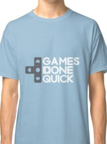 Games Done Quick (GDQ) Classic T-Shirt