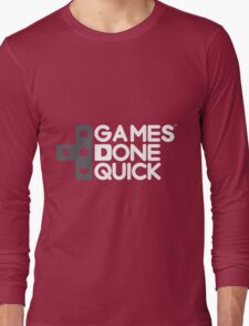 Games Done Quick (GDQ) Long Sleeve T-Shirt