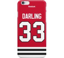 Chicago Blackhawks Scott Darling Jersey Back Phone Case iPhone Case/Skin