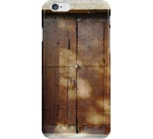 Antique Wooden Door - Phone Case iPhone Case/Skin