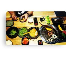 Comfort Food: Japanese BBQ Canvas Print