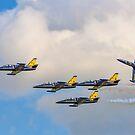 Aero L-39C Albatros formation by Colin Smedley