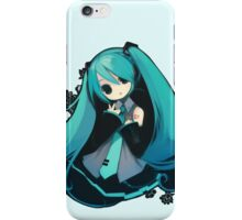 Kawaii girl iPhone Case/Skin