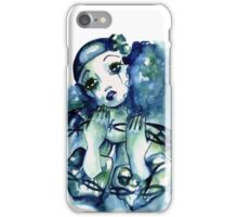 Blue Pierrot iPhone Case/Skin