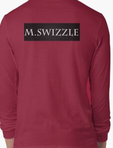 M.Swizzle Black Long Sleeve T-Shirt