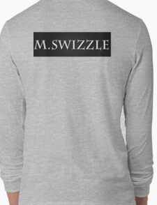 M.Swizzle Black Long Sleeve T-Shirt